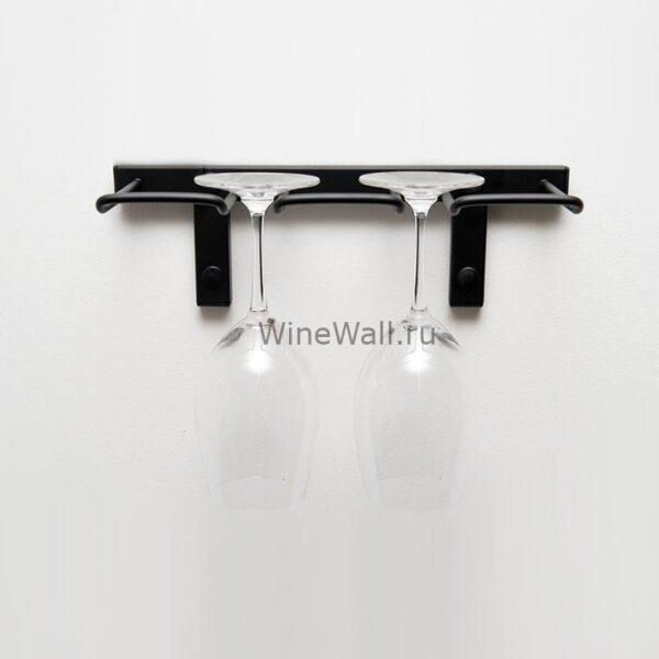 Подвесная полка – стеллаж для бокалов