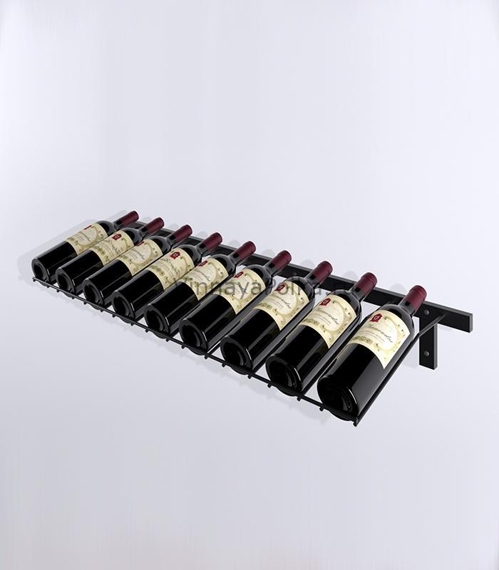 Винный стеллаж наклонный 3-9 бутылок