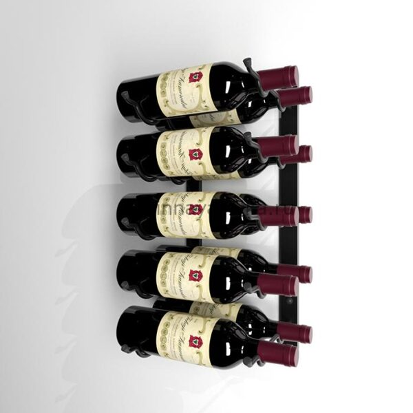 Винный стеллаж настенный 5-10 бутылок