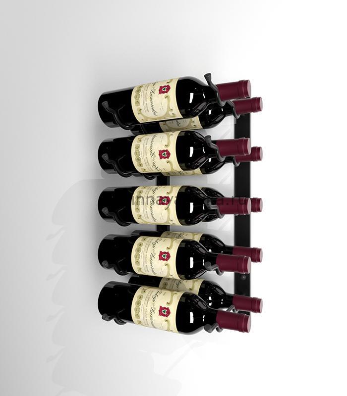 Винный стеллаж настенный на 10 бутылок вина