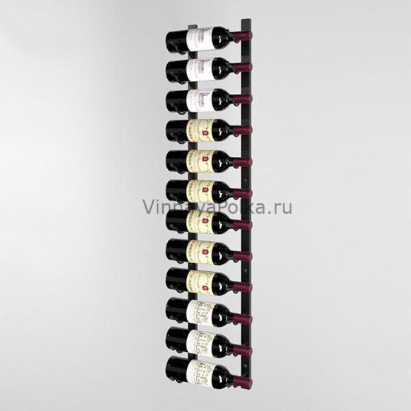Винный стеллаж настенный 12 бутылок