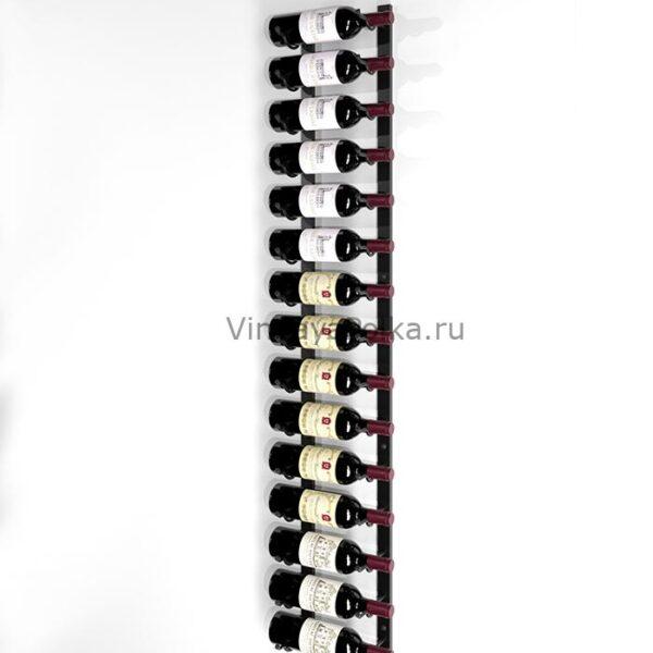 Винный стеллаж настенный 15-30 бутылок