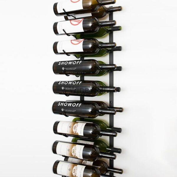 Винный стеллаж настенный 9-18 бутылок (Магнум)
