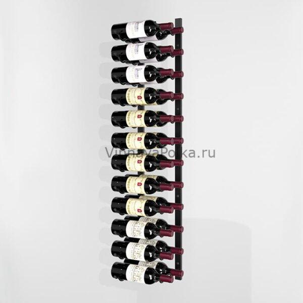 Винный стеллаж настенный 12-24 бутылки