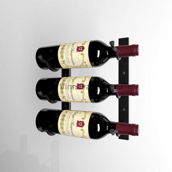 Винный стеллаж настенный 3 бутылки
