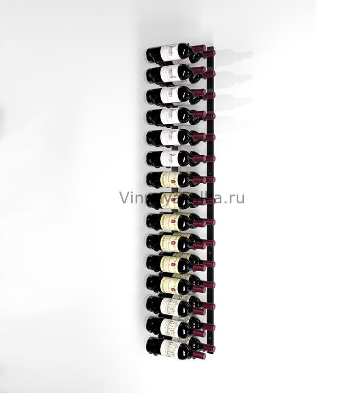 Винный стеллаж настенный 30 бутылок