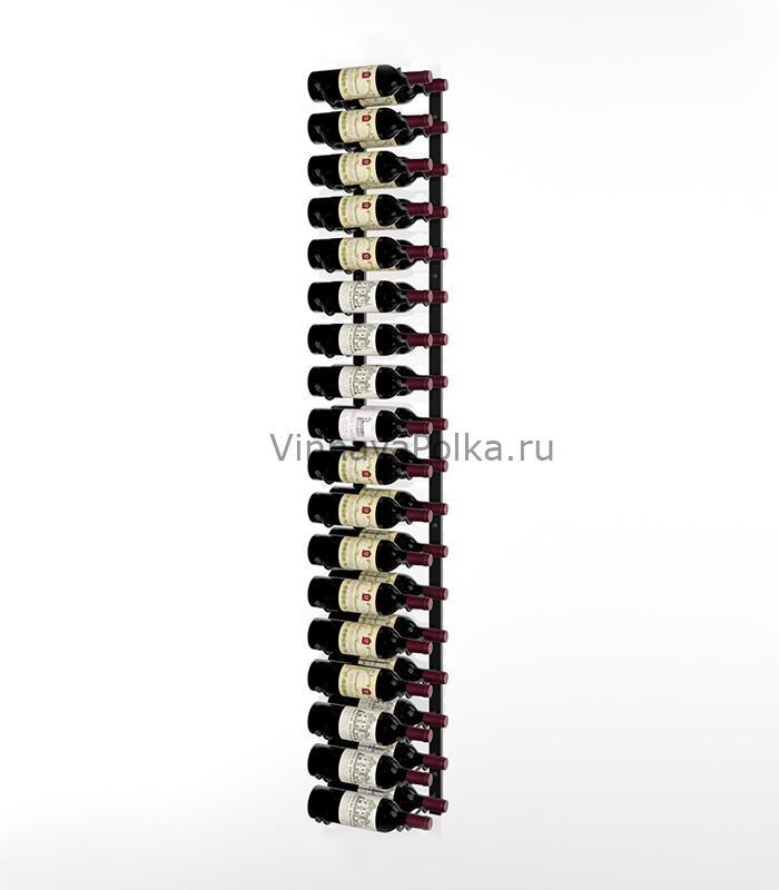 Винный стеллаж настенный 18-36 бутылок