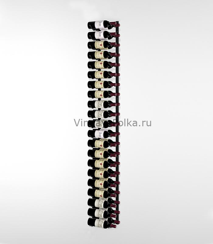 Винный стеллаж настенный 21-42 бутылки