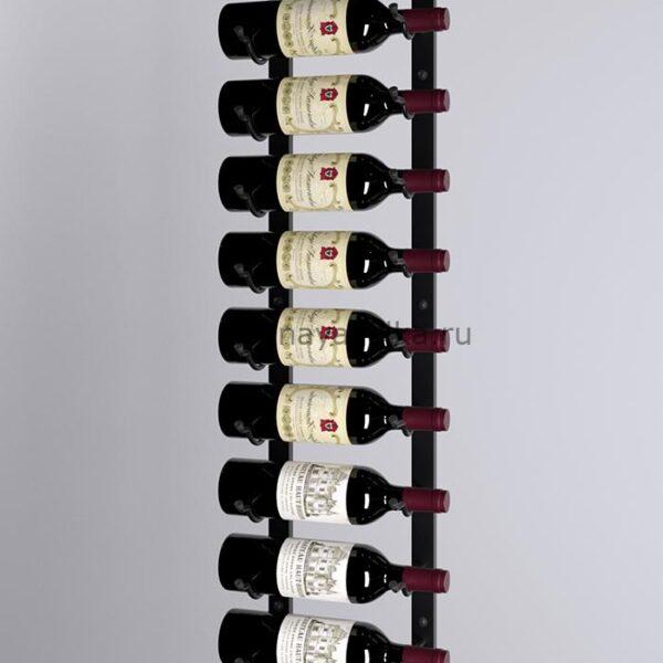Винный стеллаж настенный 9-18 бутылок
