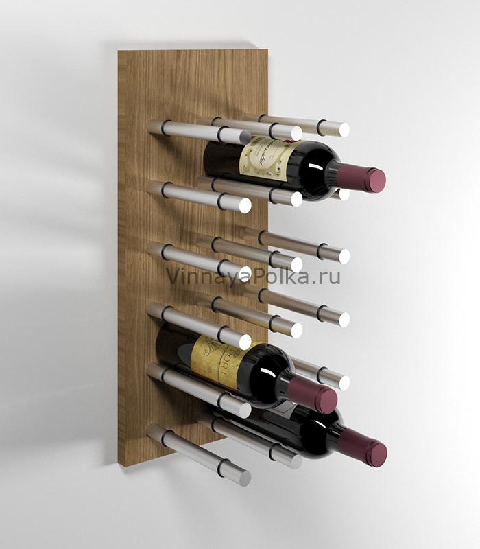 Модуль для вина на 12 бутылок дуб