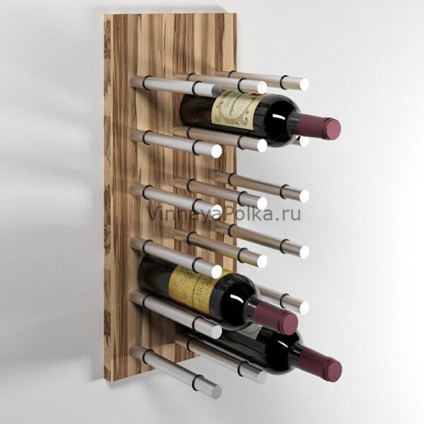 Модуль для вина на 12 бутылок олива