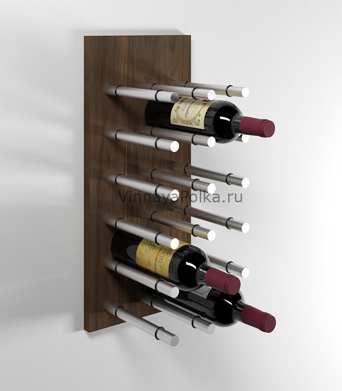 Модуль для вина на 12 бутылок орех