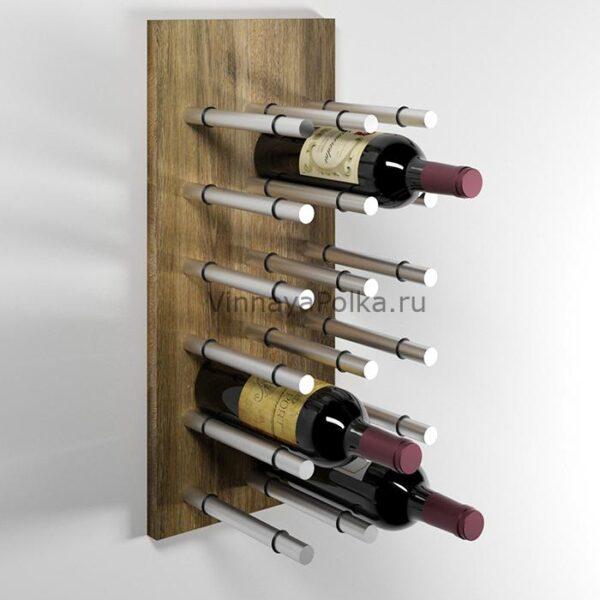 Модуль для вина на 12 бутылок старый дуб