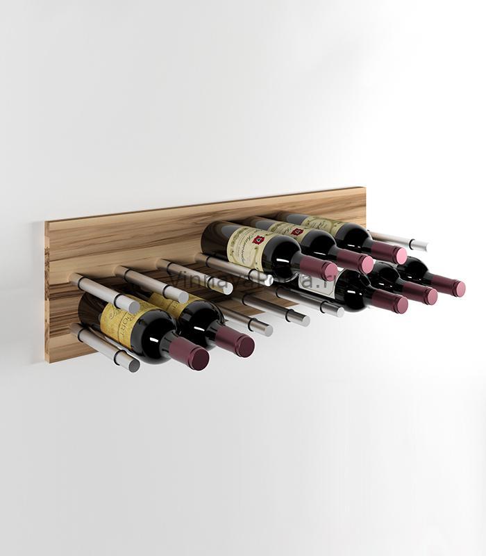 Модуль для вина на 16 бутылок олива