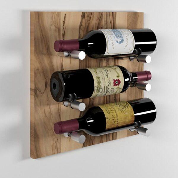 Модуль для вина на 3 бутылки олива