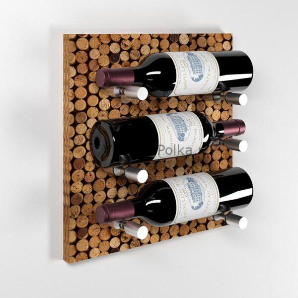 Модуль для вина на 3 бутылки Винная пробка