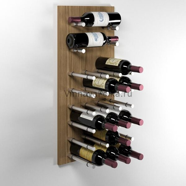 Модуль для вина на 20 бутылок дуб