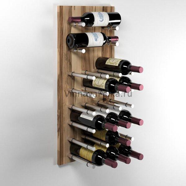 Модуль для вина на 20 бутылок олива