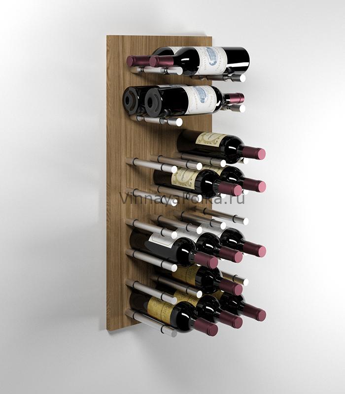 Модуль для вина на 22 бутылки дуб