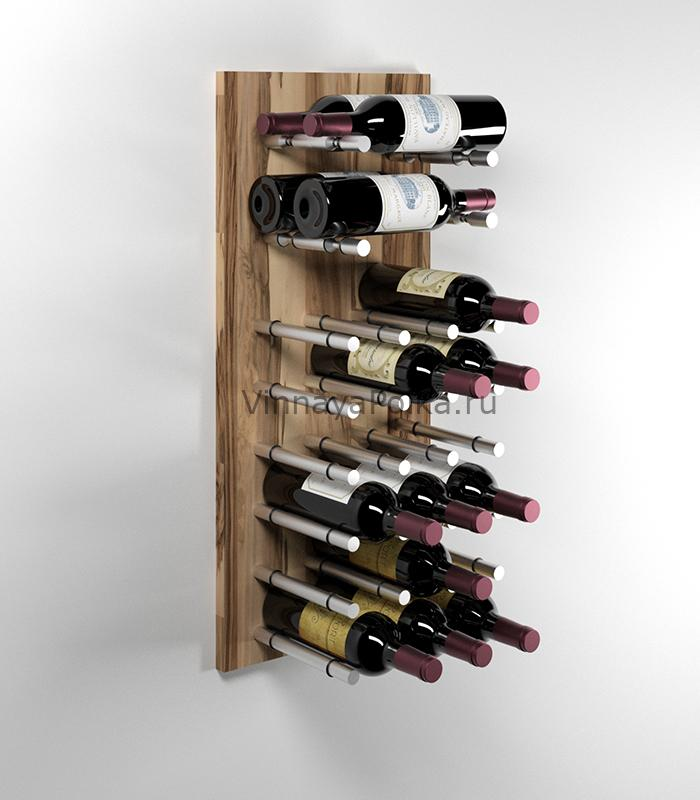 Модуль для вина на 22 бутылки олива