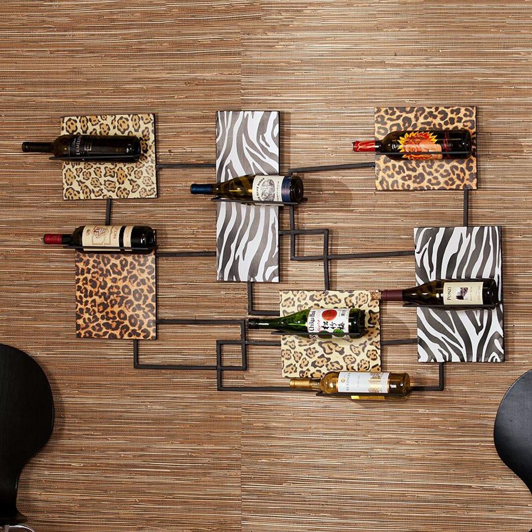 Полки для хранения бутылок с вином