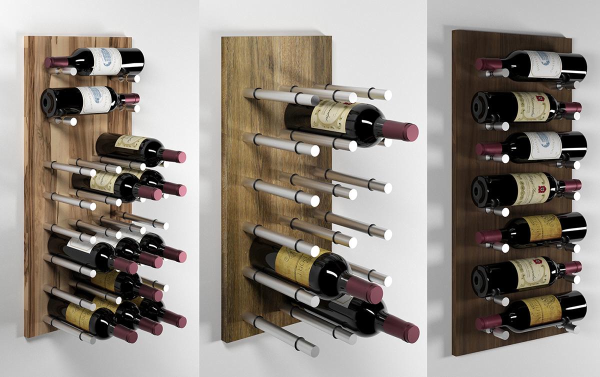 Держатели для бутылок вина Wine Pegs