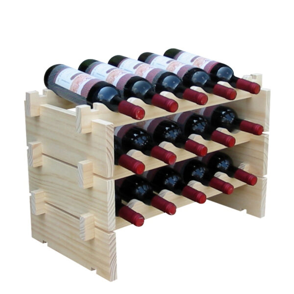 Модульные полки для бутылок вина