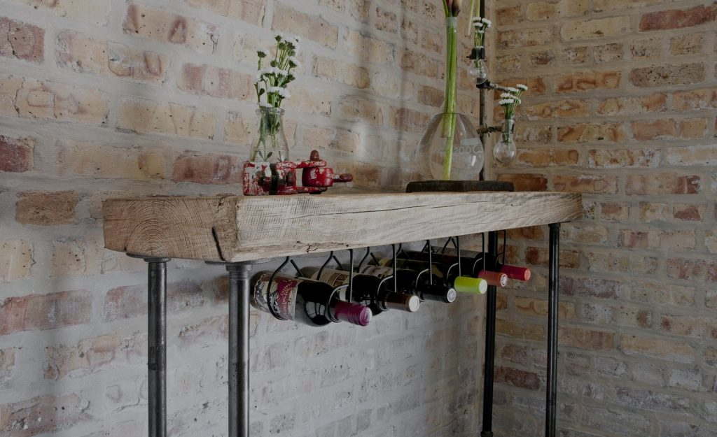 Подставки для хранения бутылок вина, алкоголя своими руками