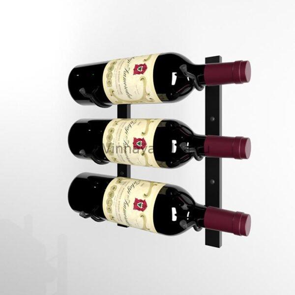 Винный стеллаж на 3 бутылки (Магнум)
